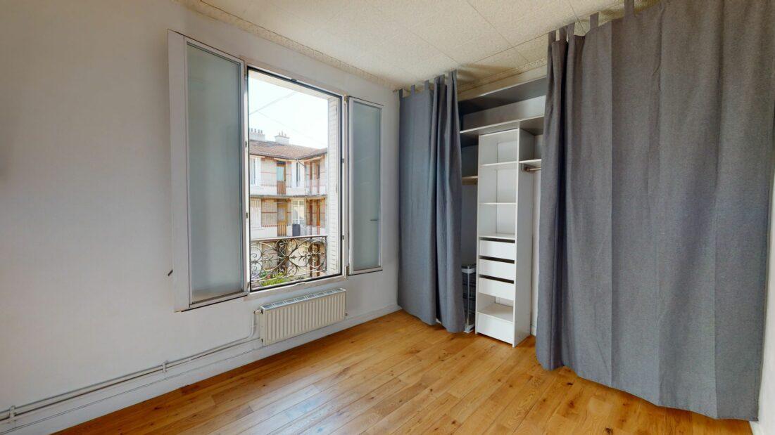 location appartement val de marne: appartement 3 pièces 52 m², chambre 1 avec dressing