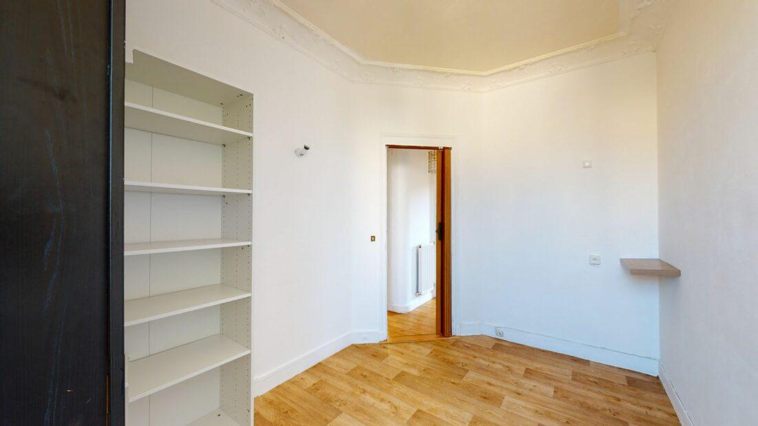 location immobiliere maisons alfort: 3 pièces 52 m², chambre 2 avec rangements