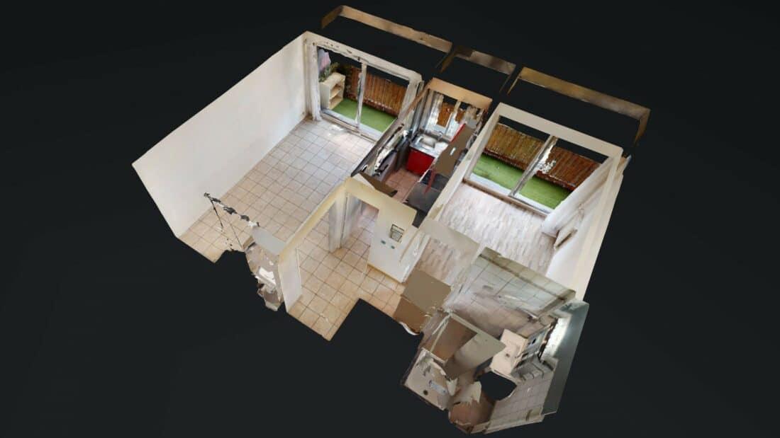 location appartement 2 pièces maisons alfort 94700: visite virtuelle interactive en ligne