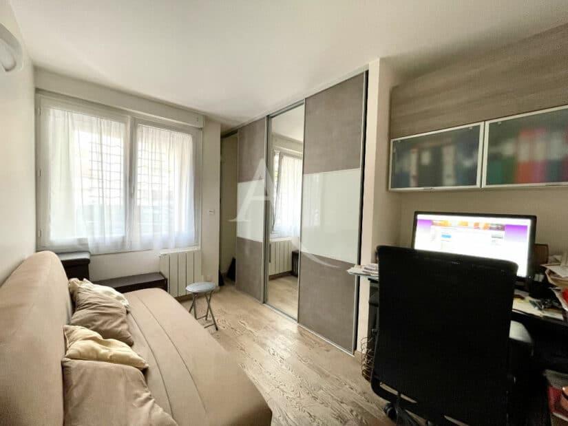 appartement à vendre à charenton le pont: 3 pièces 82 m², seconde chambre / bureau