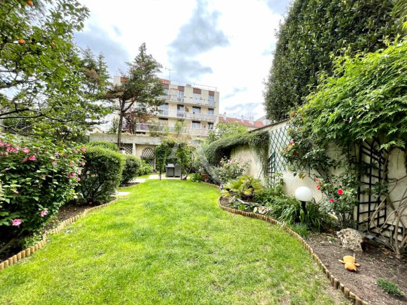 appartement à vendre charenton-le-pont: 3 pièces 82 m², sur un jardin privatif au calme et orienté sud-ouest