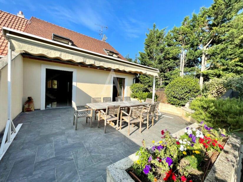 vente maison maisons-alfort: 6 pièces 140 m², grande terrasse sur jardin 389 m²