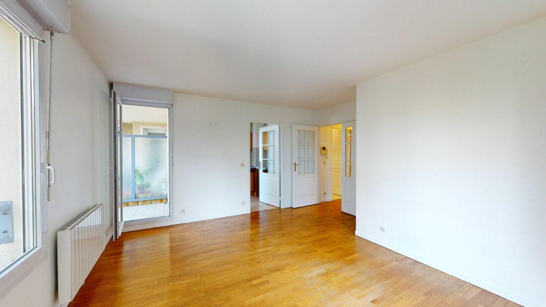 appartement charenton le pont: 2 pièces 44 m² à louer, avec terrasse 5 m², cave et parking sécurisés