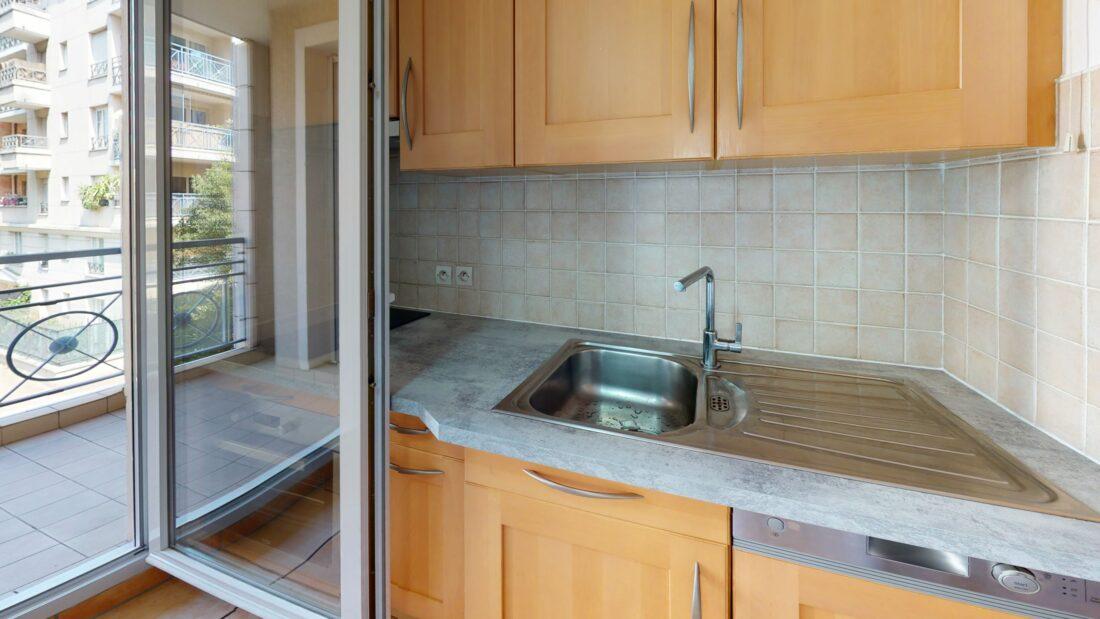 agences immobilières charenton le pont: 2 pièces 44 m², cuisine aménagée et équipée