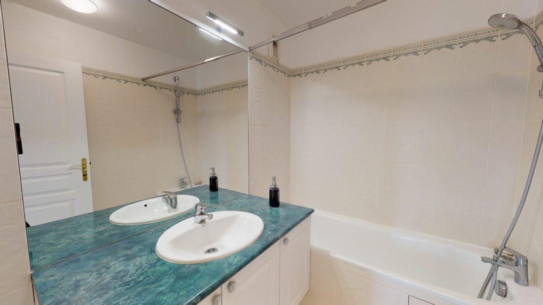 charenton le pont immobilier: 2 pièces 44 m², salle de bains et wc séparés
