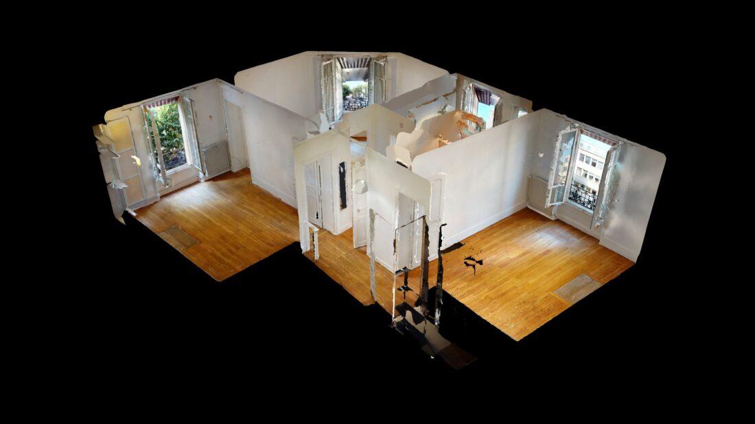 location appartement maison alfort: 3 pièces 53 m², visite virtuelle interactive en ligne