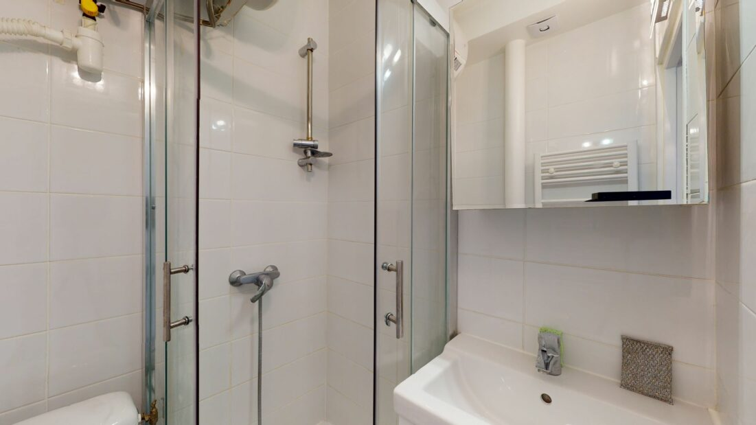 louer appartement à charenton le pont: 2 pièces 32 m², salle d'eau avec douche et wc