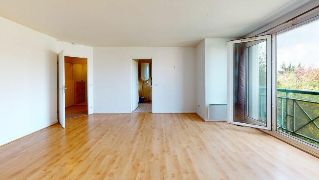 location studio dans le 94: 37 m², situé au premier étage d'une résidence récente et calme