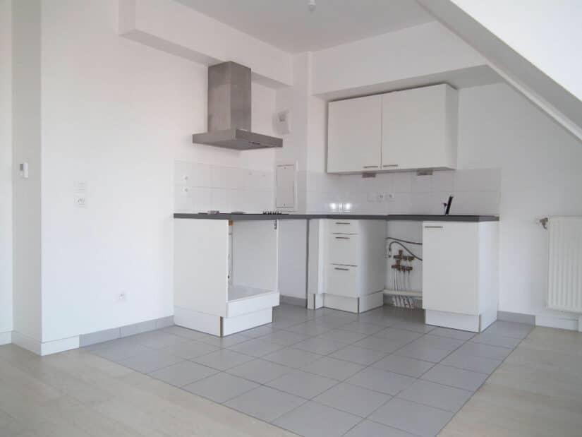 appartement a louer alfortville: 2 pièces 40 m², grand séjour avec cuisine ouverte aménagée