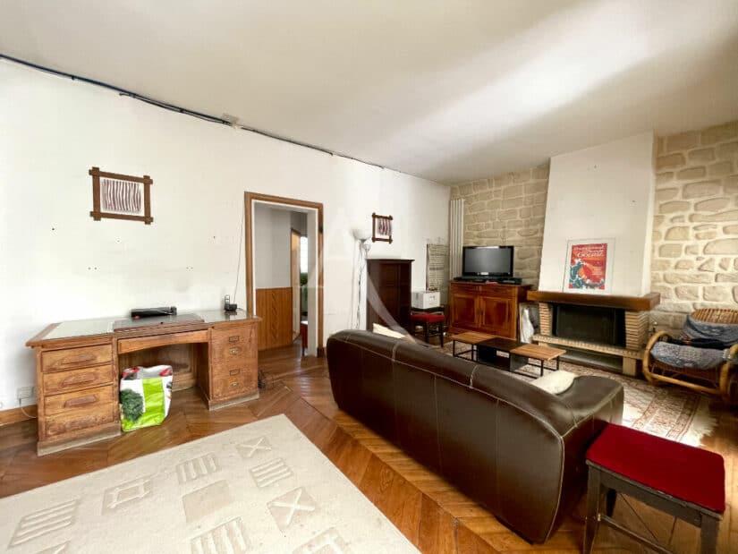 appartement à vendre maisons-alfort: 4 pièces 102 m², grand séjour avec cheminée