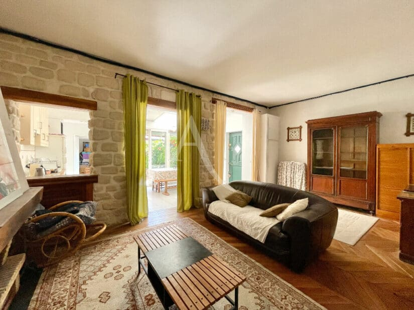 vente appartement maison alfort: 4 pièces 102 m², grand séjour avec parquet au sol