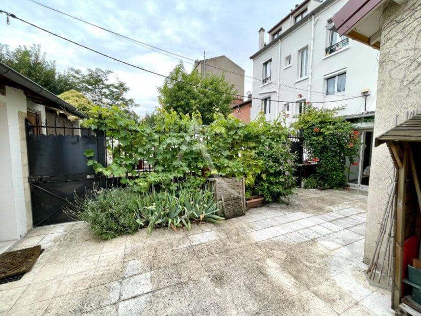 appartement maison alfort: 4 pièces 102 m², grand patio privatif