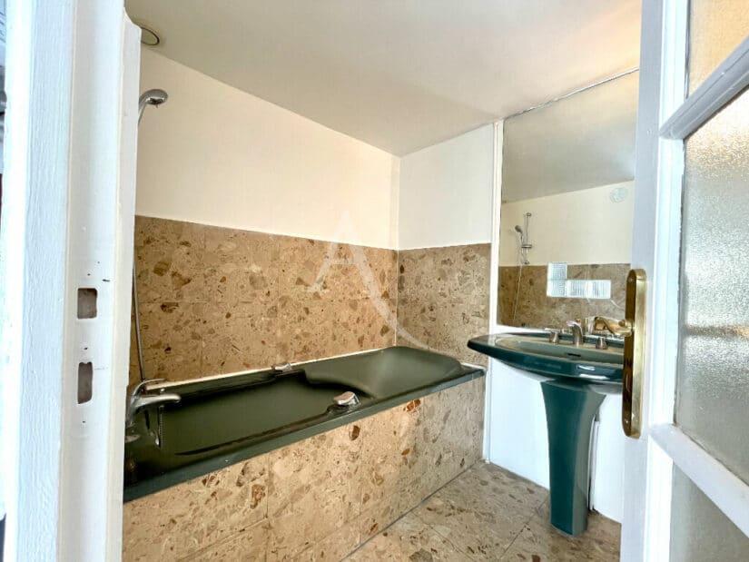 maison alfort appartement a vendre: 4 pièces 102 m², salle de bain du studio