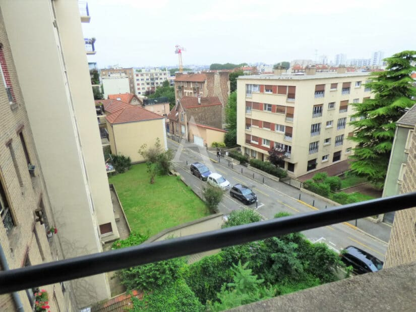 appartement a louer alfortville: 2 pièces meublé 55 m², vue dégagée au 4e étage
