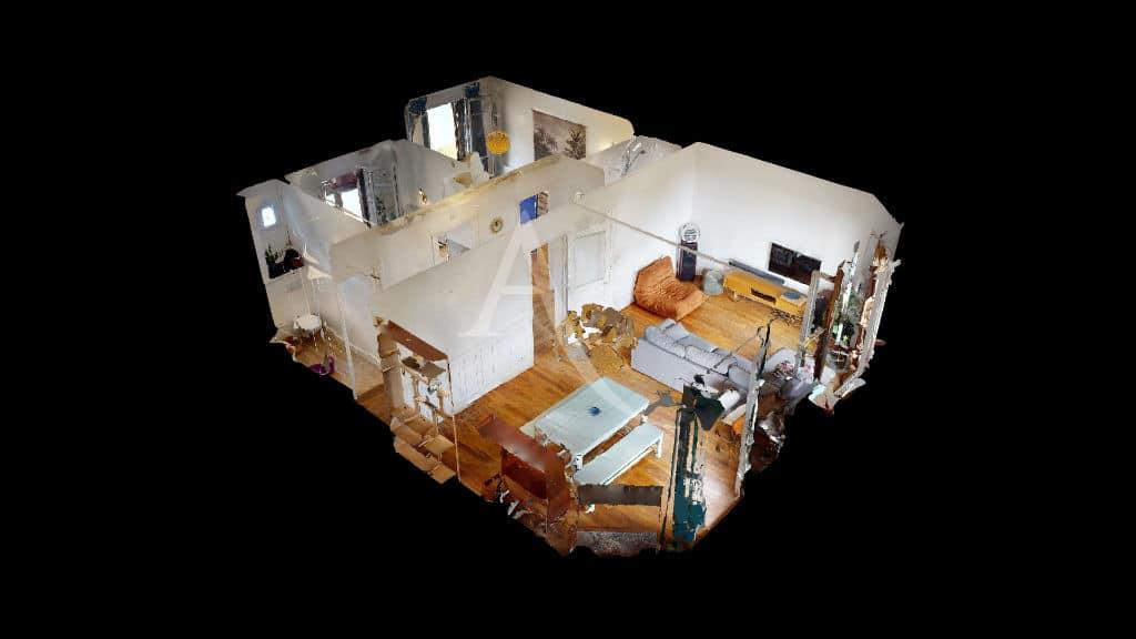 immobilier alfortville: 2 pièces meublé 55 m², visite virtuelle en ligne