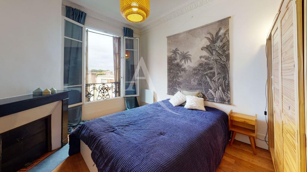 agence immo alfortville: 2 pièces meublé 55 m², chambre avec rangements