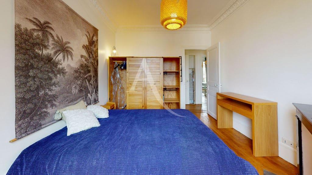 appartement alfortville: 2 pièces meublé 55 m², chambre claire et parquet