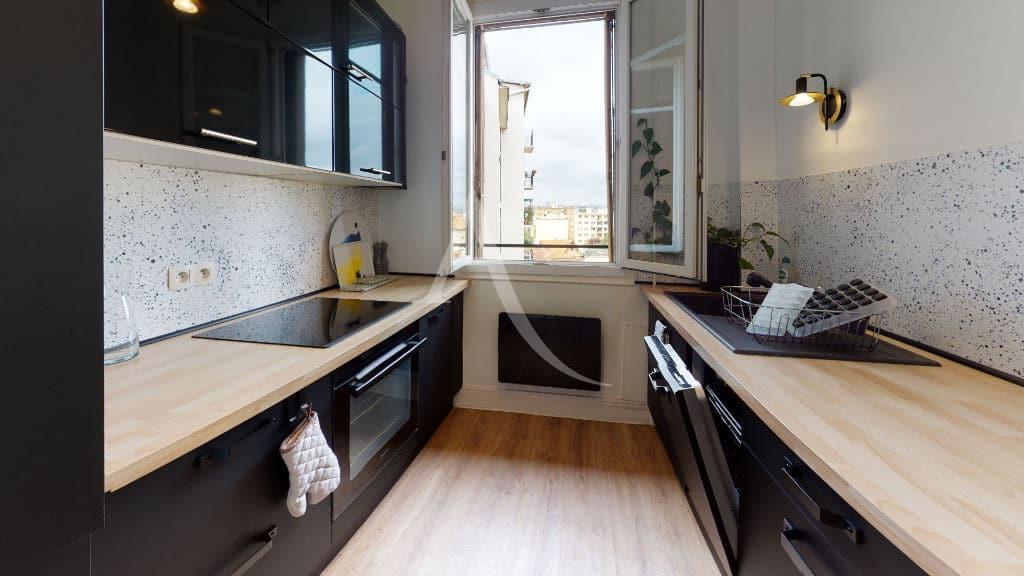 immobilier neuf alfortville: 2 pièces meublé 55 m², cuisine séparée aménagée et équipée