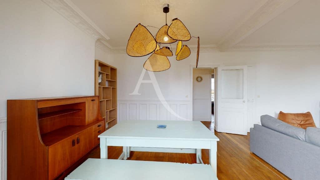 agence immobilière alfortville: 2 pièces meublé 55 m², séjour coté salle à manger