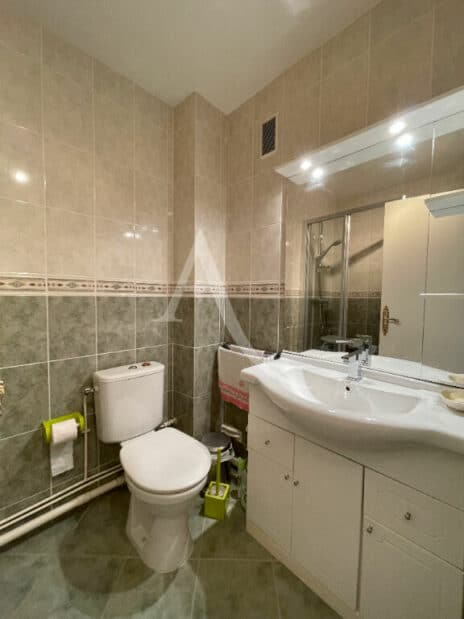 vente studio maison alfort: 30 m² refait à neuf, salle d'eau avec douche et wc
