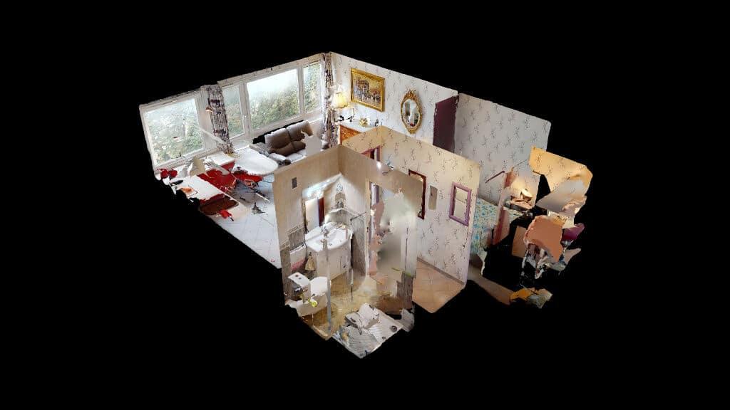vente appartement maisons alfort: 30 m² refait à neuf, visite virtuelle en ligne