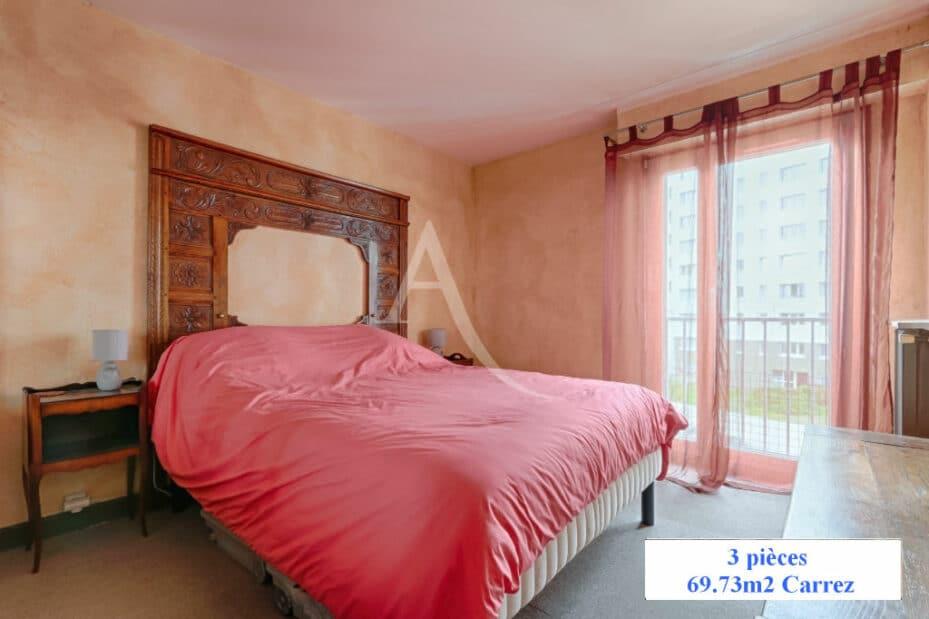 achat appartement charenton le pont: 3 pièces 70 m², première des 2 chambres