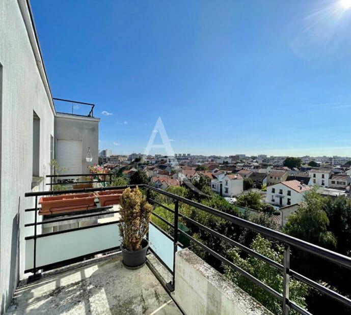 appartement a vendre alfortville: 4 pièces 98 m², terrasse  avec vue dégagée sur le jardin