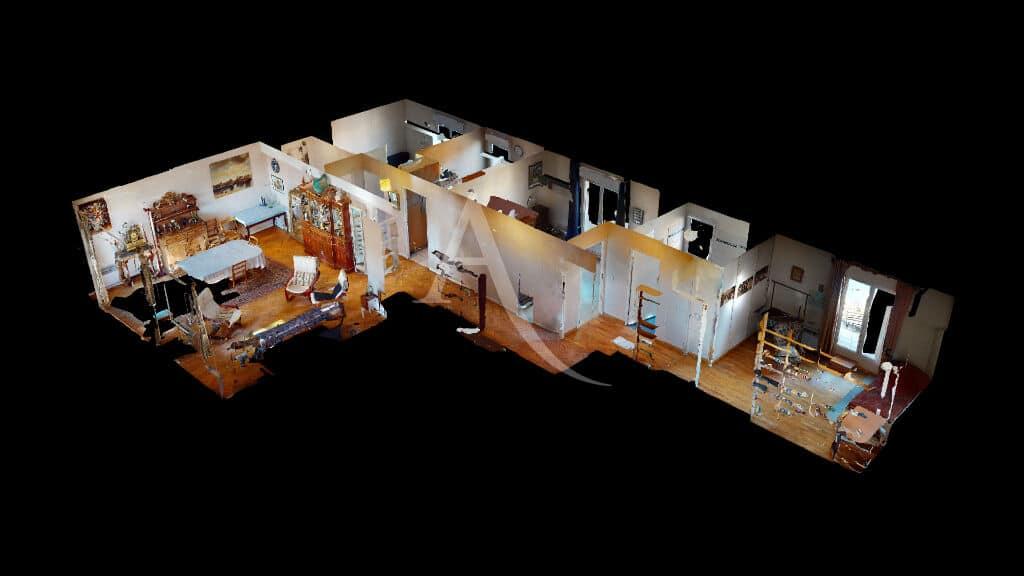 alfortville immobilier: 4 pièces 98 m², visite virtuelle interactive