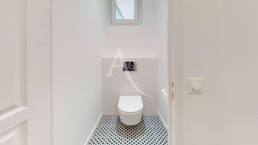 immobilier neuf alfortville: pavillon 3 pièces 63 m² refait à neuf, wc séparés