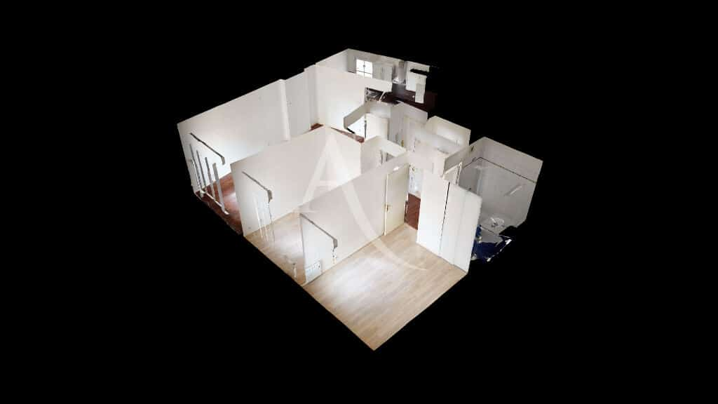 appartement a vendre maisons alfort: 3 pièces 62 m², visite virtuelle en ligne