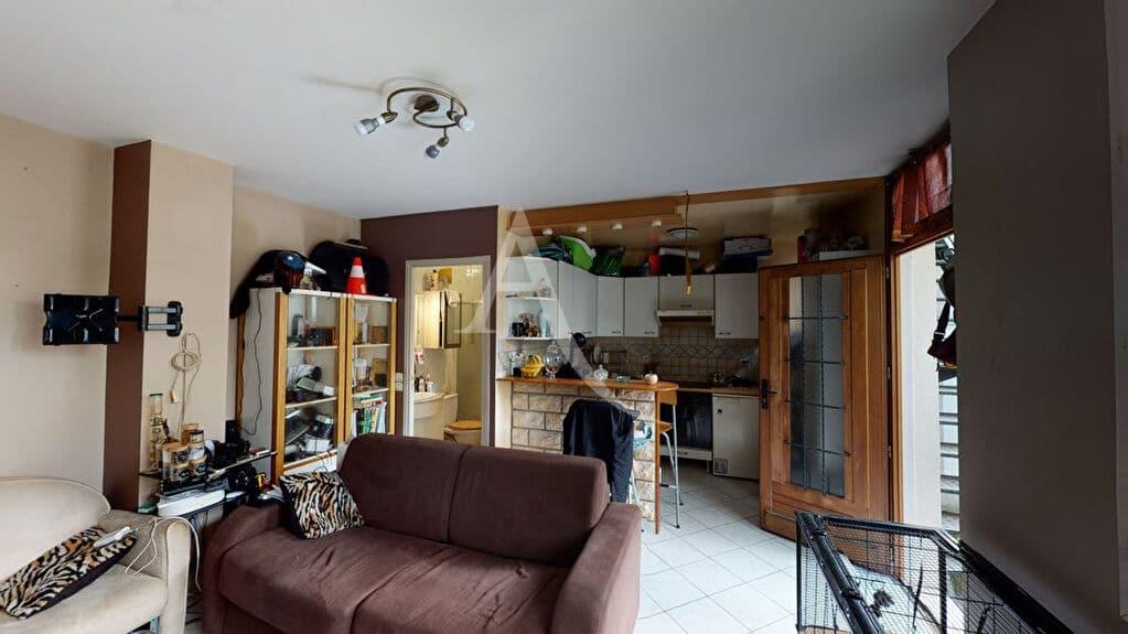 agence immo alfortville: appartement 2 pièces 34 m² à vendre, vue jardin au calme