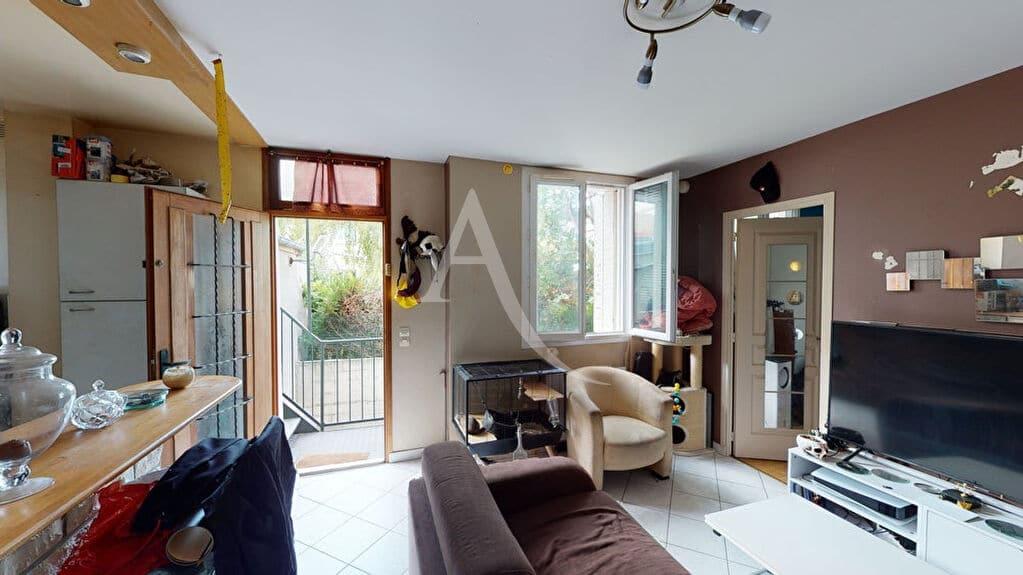 appartement a vendre alfortville: 2 pièces 34 m², séjour vue jardin sans vis à vis