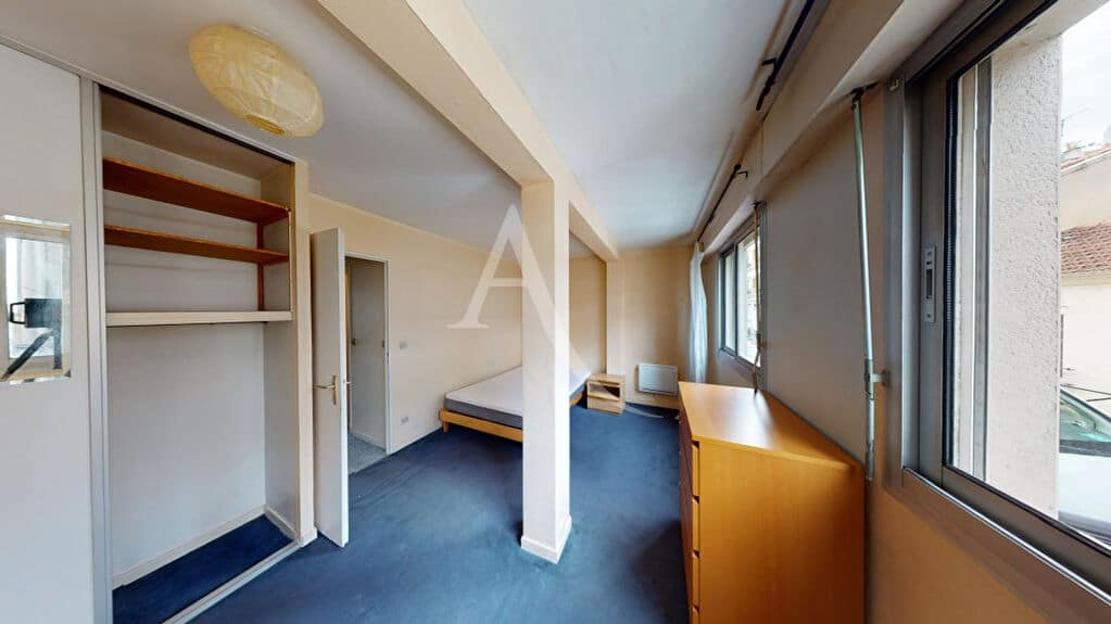 vente appartement 2 pieces alfortville: 2 pièces 50 m², chambre avec placard