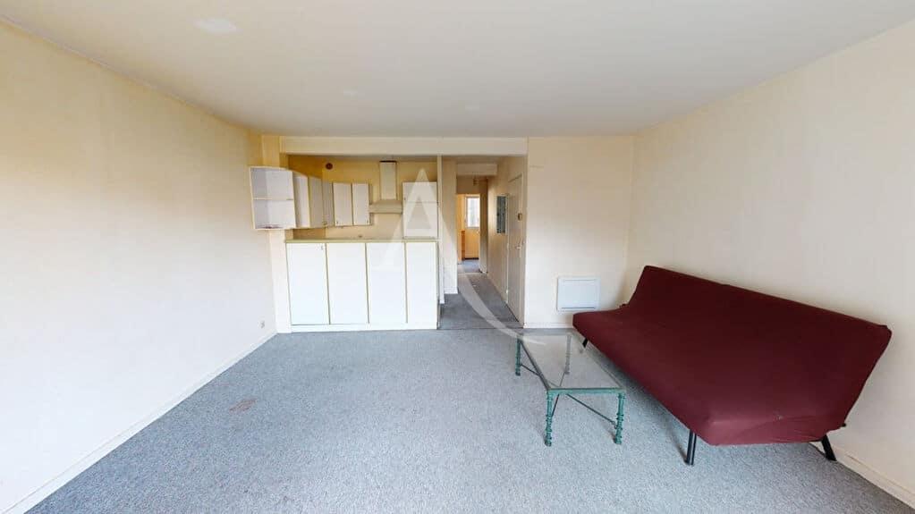 appartement à vendre à alfortville: 2 pièces 50 m², cuisine ouverte avec nombreux rangements et hotte