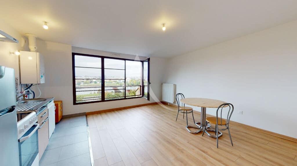 appartement a louer alfortville: 2 pièces 43 m², séjour oiuvert sur cuisine équipée