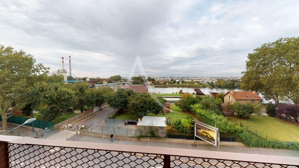 agence de location appartement: 2 pièces 43 m², terrasse vue panoramique sur la seine