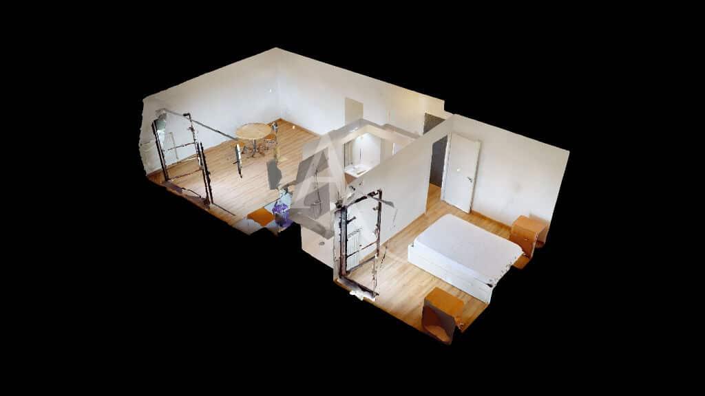 appartement alfortville: 2 pièces 43 m², visite virtuelle en lignez