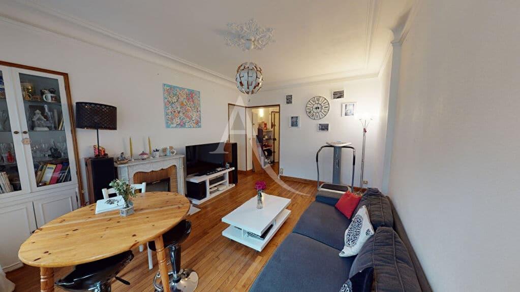 agence immobilière ouverte le samedi: appartement 4 pièces 76 m² à vendre, séjour parquet chêne