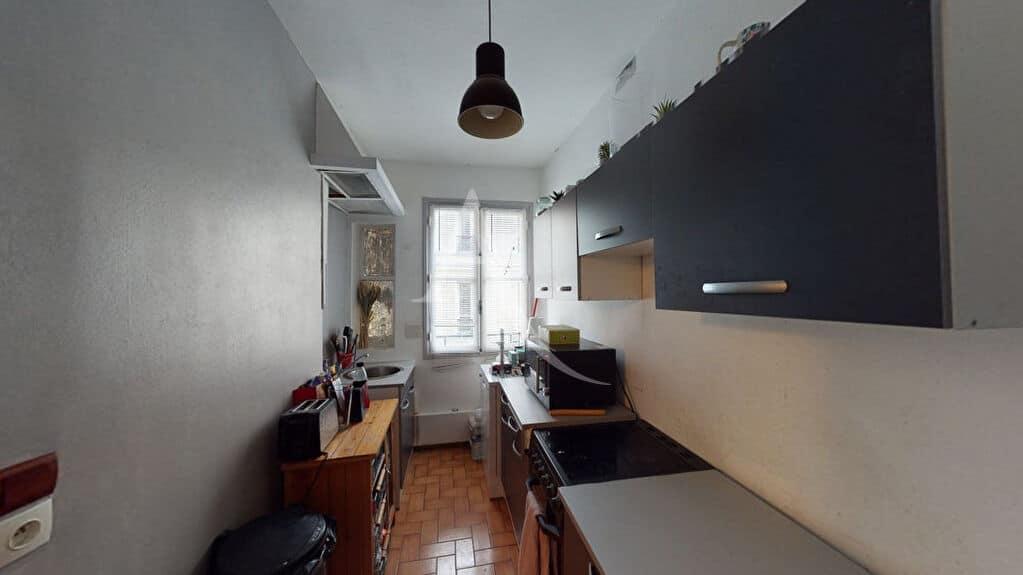 immobilier à vendre: appartement 4 pièces 76 m² à paris, cuisine séparée