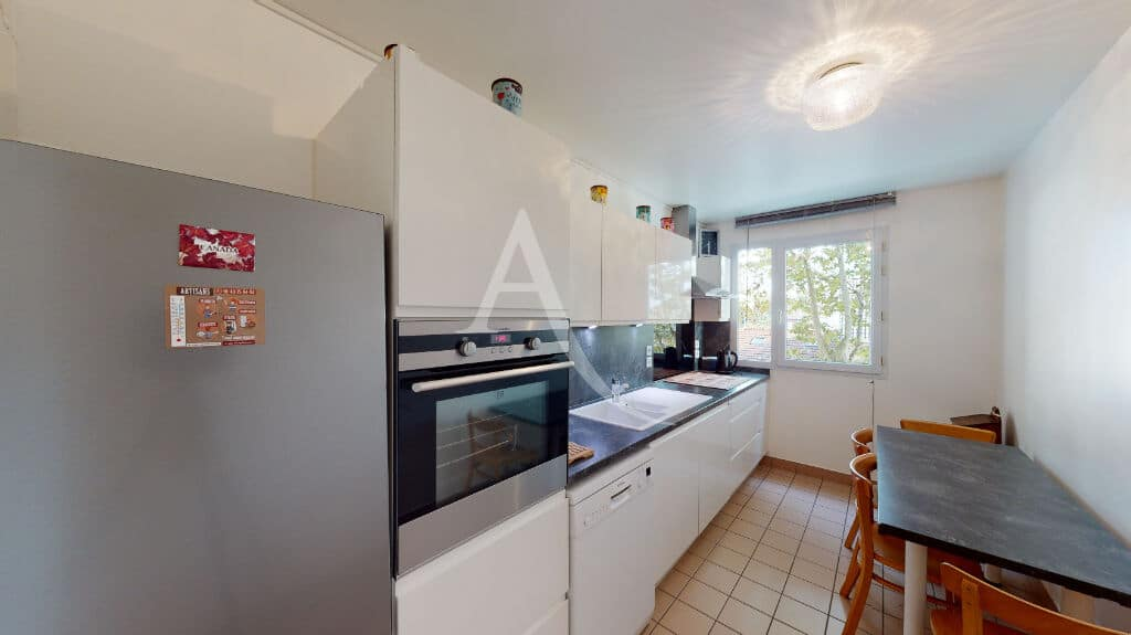 appartement a vendre alfortville: 3 pièces 71 m², cuisine indépendante moderne entièrement aménagée et équipée